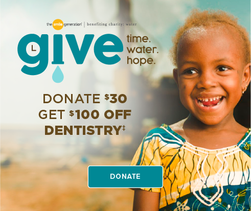 Donate $30, Get $100 Off Dentistry - Tangerine Dental Group